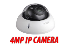 Motorized Zoom and Auto Focus IP IR Dome Camera