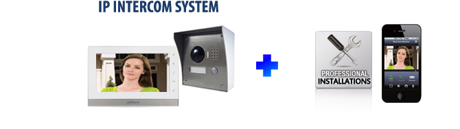 7 inch  LCD Monitor House Colour  Video Intercom installation package