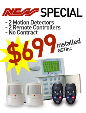 Home Security Alarm System Sydney and SPY Camera Products – Sydney Alarm Installation Package