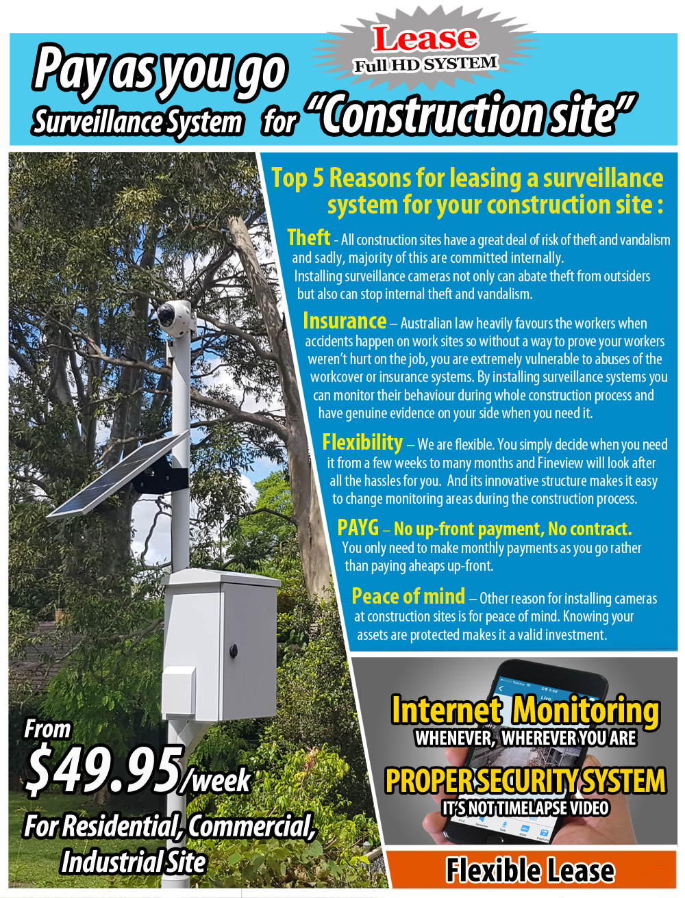 advanced wifi wireless home office full mobile control alarm system security alarm installation package in sydney